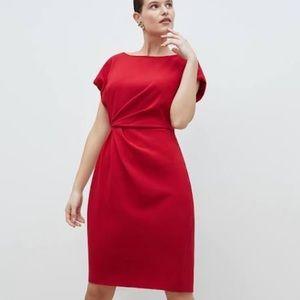 MM. LAFLEUR The Jillian red dress size 6 NWT